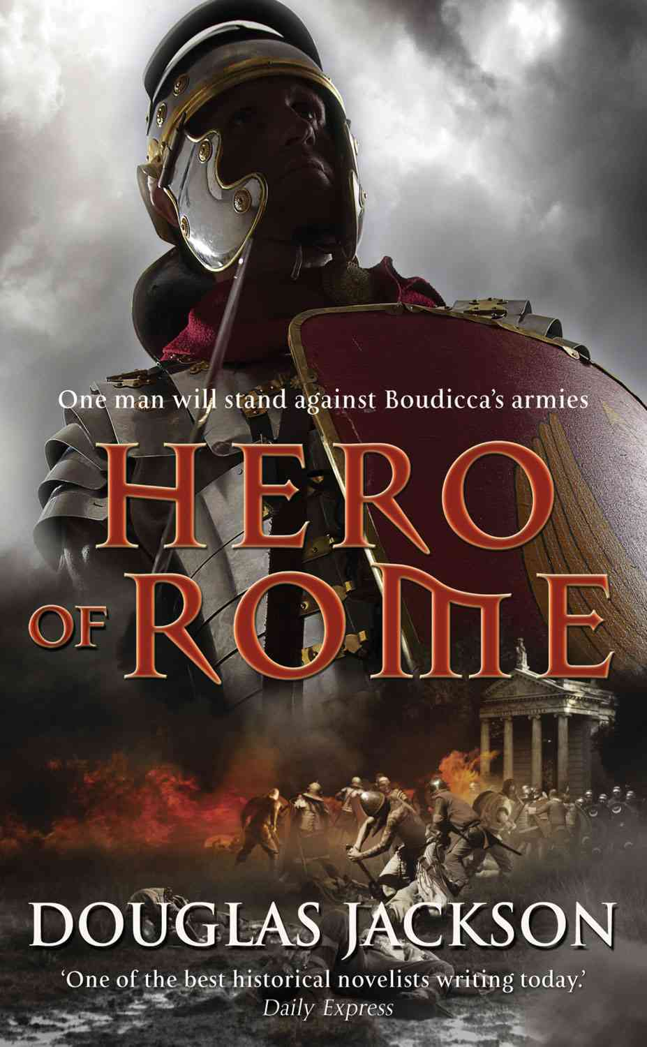 Hero of Rome By Jackson, Douglas